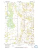 Download a high-resolution, GPS-compatible USGS topo map for Polonia, WI (1991 edition)