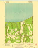Download a high-resolution, GPS-compatible USGS topo map for Poplar NE, WI (1955 edition)