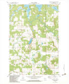 Download a high-resolution, GPS-compatible USGS topo map for Poquettes Lake, WI (1983 edition)