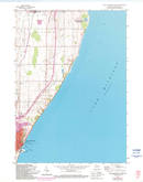 Download a high-resolution, GPS-compatible USGS topo map for Port Washington East, WI (1994 edition)