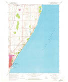 Download a high-resolution, GPS-compatible USGS topo map for Port Washington East, WI (1973 edition)