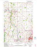 Download a high-resolution, GPS-compatible USGS topo map for Port Washington West, WI (1994 edition)