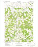 Download a high-resolution, GPS-compatible USGS topo map for Potato Hill, WI (1978 edition)