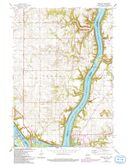 Download a high-resolution, GPS-compatible USGS topo map for Prescott, WI (1993 edition)