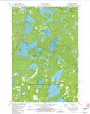 Download a high-resolution, GPS-compatible USGS topo map for Presque Isle, WI (1982 edition)