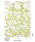 Download a high-resolution, GPS-compatible USGS topo map for Price, WI (1984 edition)