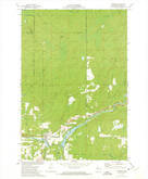 Download a high-resolution, GPS-compatible USGS topo map for Radisson, WI (1975 edition)