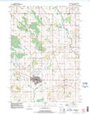 Download a high-resolution, GPS-compatible USGS topo map for Reedsville, WI (1996 edition)