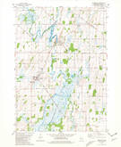 Download a high-resolution, GPS-compatible USGS topo map for Reeseville, WI (1981 edition)