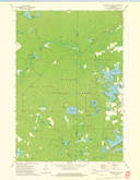 Download a high-resolution, GPS-compatible USGS topo map for Reservoir Pond, WI (1975 edition)