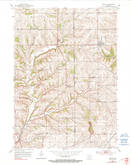 Download a high-resolution, GPS-compatible USGS topo map for Rewey, WI (1990 edition)