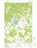 Download a high-resolution, GPS-compatible USGS topo map for Rib Lake, WI (1980 edition)