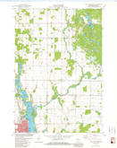 Download a high-resolution, GPS-compatible USGS topo map for Rice Lake North, WI (1982 edition)