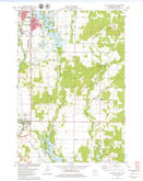 Download a high-resolution, GPS-compatible USGS topo map for Rice Lake South, WI (1979 edition)
