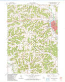 Download a high-resolution, GPS-compatible USGS topo map for Richland Center, WI (1983 edition)