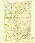 Download a high-resolution, GPS-compatible USGS topo map for Richwood, WI (1960 edition)