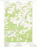 Download a high-resolution, GPS-compatible USGS topo map for Ringle, WI (1982 edition)