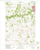 Download a high-resolution, GPS-compatible USGS topo map for River Falls West, WI (1977 edition)