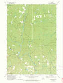 Download a high-resolution, GPS-compatible USGS topo map for Roaring Rapids, WI (1975 edition)