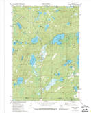 Download a high-resolution, GPS-compatible USGS topo map for Roberts Lake, WI (1989 edition)