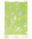 Download a high-resolution, GPS-compatible USGS topo map for Roberts Lake, WI (1976 edition)