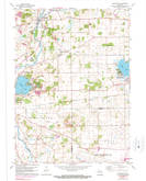 Download a high-resolution, GPS-compatible USGS topo map for Rochester, WI (1990 edition)