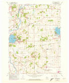 Download a high-resolution, GPS-compatible USGS topo map for Rochester, WI (1972 edition)