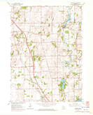 Download a high-resolution, GPS-compatible USGS topo map for Rockdale, WI (1972 edition)
