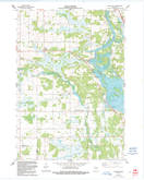 Download a high-resolution, GPS-compatible USGS topo map for Rocky Run, WI (1991 edition)