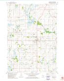 Download a high-resolution, GPS-compatible USGS topo map for Rosendale, WI (1981 edition)