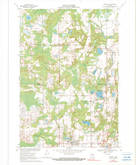 Download a high-resolution, GPS-compatible USGS topo map for Rosholt, WI (1990 edition)