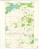 Download a high-resolution, GPS-compatible USGS topo map for Rusk, WI (1975 edition)