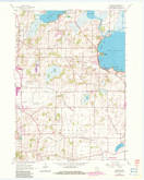 Download a high-resolution, GPS-compatible USGS topo map for Rutland, WI (1983 edition)