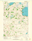 Download a high-resolution, GPS-compatible USGS topo map for Rutland, WI (1964 edition)