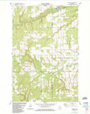 Download a high-resolution, GPS-compatible USGS topo map for Sanborn, WI (1984 edition)