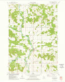 Download a high-resolution, GPS-compatible USGS topo map for Sand Creek, WI (1978 edition)