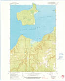 Download a high-resolution, GPS-compatible USGS topo map for Sand Island, WI (1991 edition)