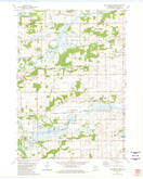 Download a high-resolution, GPS-compatible USGS topo map for Sand Spring Creek, WI (1981 edition)