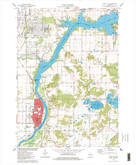 Download a high-resolution, GPS-compatible USGS topo map for Sauk City, WI (1978 edition)