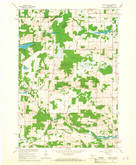 Download a high-resolution, GPS-compatible USGS topo map for Saxeville, WI (1966 edition)