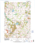 Download a high-resolution, GPS-compatible USGS topo map for School Hill, WI (1996 edition)