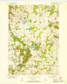 Download a high-resolution, GPS-compatible USGS topo map for School Hill, WI (1956 edition)