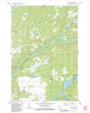 Download a high-resolution, GPS-compatible USGS topo map for Scovils Lake, WI (1983 edition)