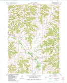 Download a high-resolution, GPS-compatible USGS topo map for Sextonville, WI (1983 edition)