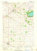 Download a high-resolution, GPS-compatible USGS topo map for Sharon, WI (1964 edition)