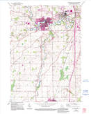 Download a high-resolution, GPS-compatible USGS topo map for Sheboygan Falls, WI (1995 edition)