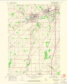 Download a high-resolution, GPS-compatible USGS topo map for Sheboygan Falls, WI (1974 edition)