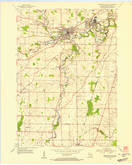 Download a high-resolution, GPS-compatible USGS topo map for Sheboygan Falls, WI (1956 edition)