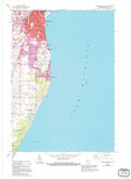Download a high-resolution, GPS-compatible USGS topo map for Sheboygan South, WI (1995 edition)