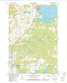 Download a high-resolution, GPS-compatible USGS topo map for Shell Lake, WI (1982 edition)